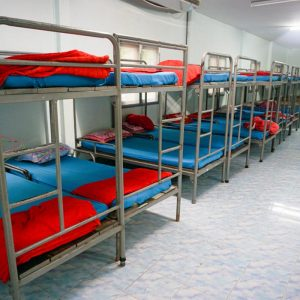 Double Decker Hostel Beds