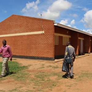 Stephanos hands over classroom block